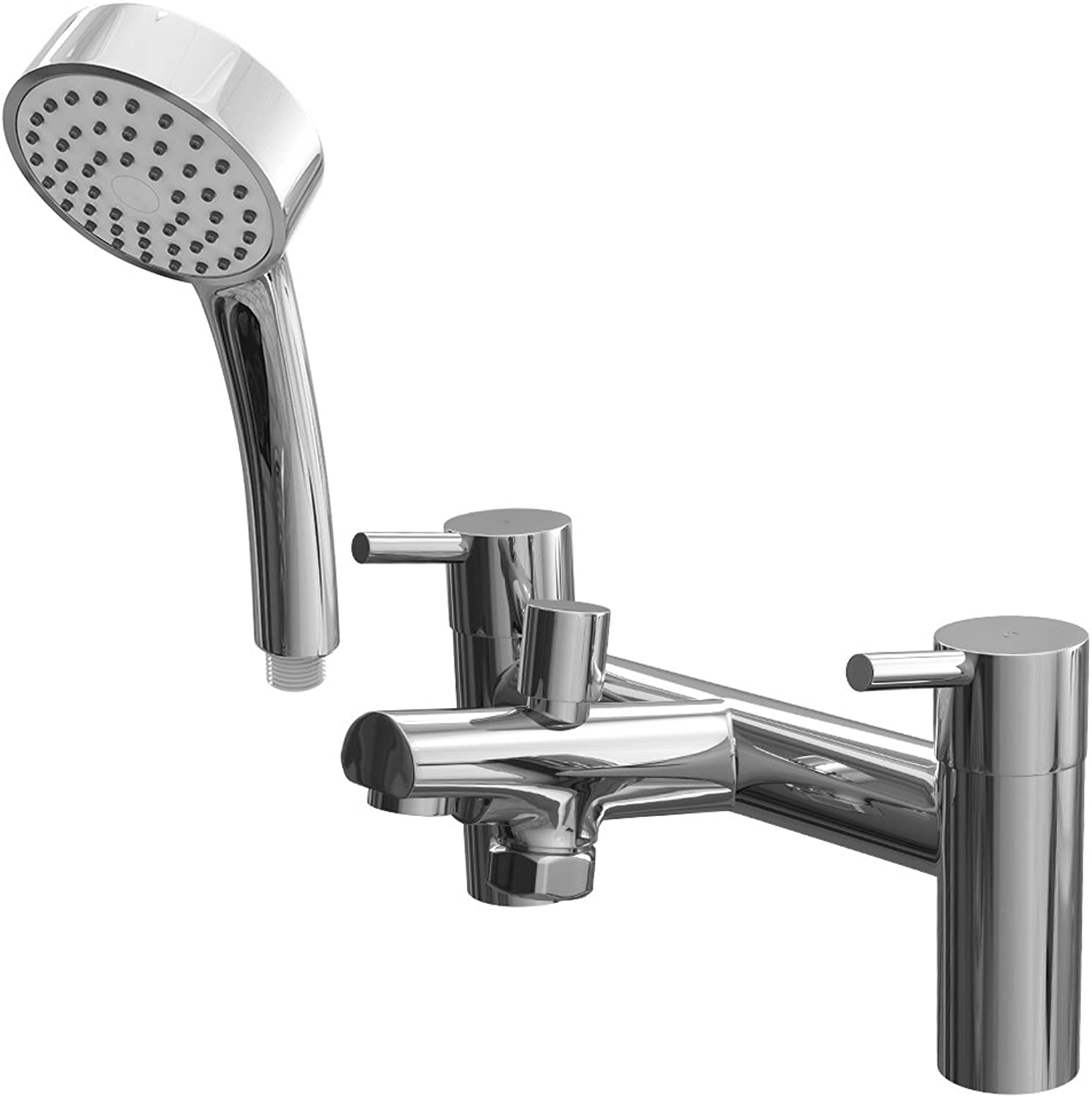 Trade In Post Dalton Bath Shower Mixer Faucet Tap Including Hose and Handset
