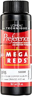 L'Oreal Preference Mega Reds MR5-Medium Intense Copper Auburn 2OZ