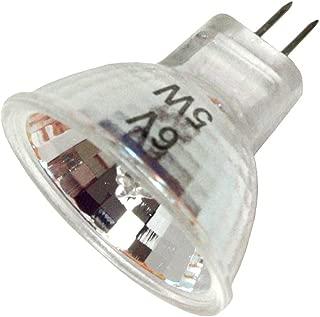 Hikari JCR-8193 - 5 Watt Halogen Light Bulb - MR11 - Flood - Open Face - 1000 Life Hours - 6 Volt