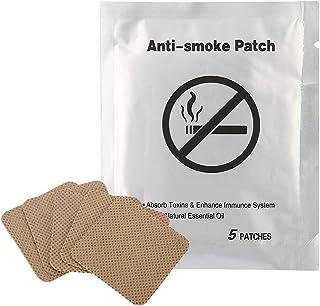 Parche antitabaco 5pcs Parche antitabaco Dejar de fumar Almohadilla Dejar de fumar yeso Dejar de fumar