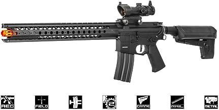 Krytac War Sport LVOA-C Keymod M4 Carbine AEG Airsoft Gun (Black)