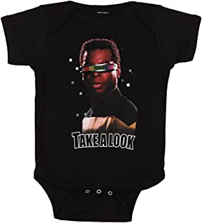 Take A Look Baby Romper Snapsuit
