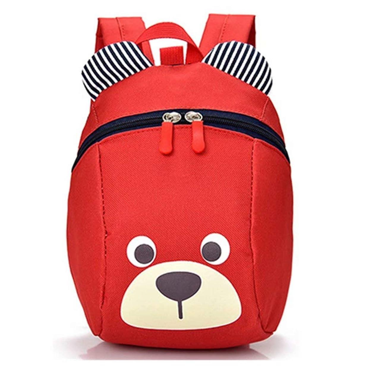 チャンス拍手商標LiUiMiY 子供リュック 迷子防止 紐付き 可愛い熊型 幼児 キッズ 入園 幼稚園パックバッグ 男の子 女の子かばん 人気 1歳-3歳用