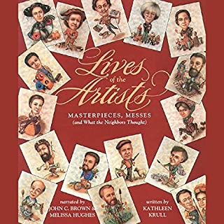 Lives of the Artists audiobook cover art