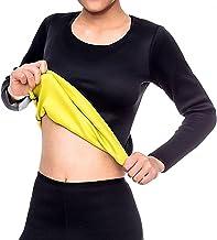 Vrouwen Body Shaper met Lange Mouwen Afslanken Workout Zweet Saunapak, Neopreen Shapewear Oefening Workout Saunapak, Licha...