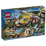 LEGO City 60162Construction Approvisionnement hélicoptère Jouet de la Jungle