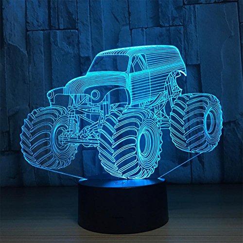 baby Q LED 3D Lampe, Lumière de Contact colorée, lumière créatrice Acrylique de Puissance d'USB de Cadeaux