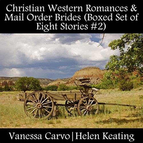 Christian Western Romances & Mail Order Brides audiobook cover art