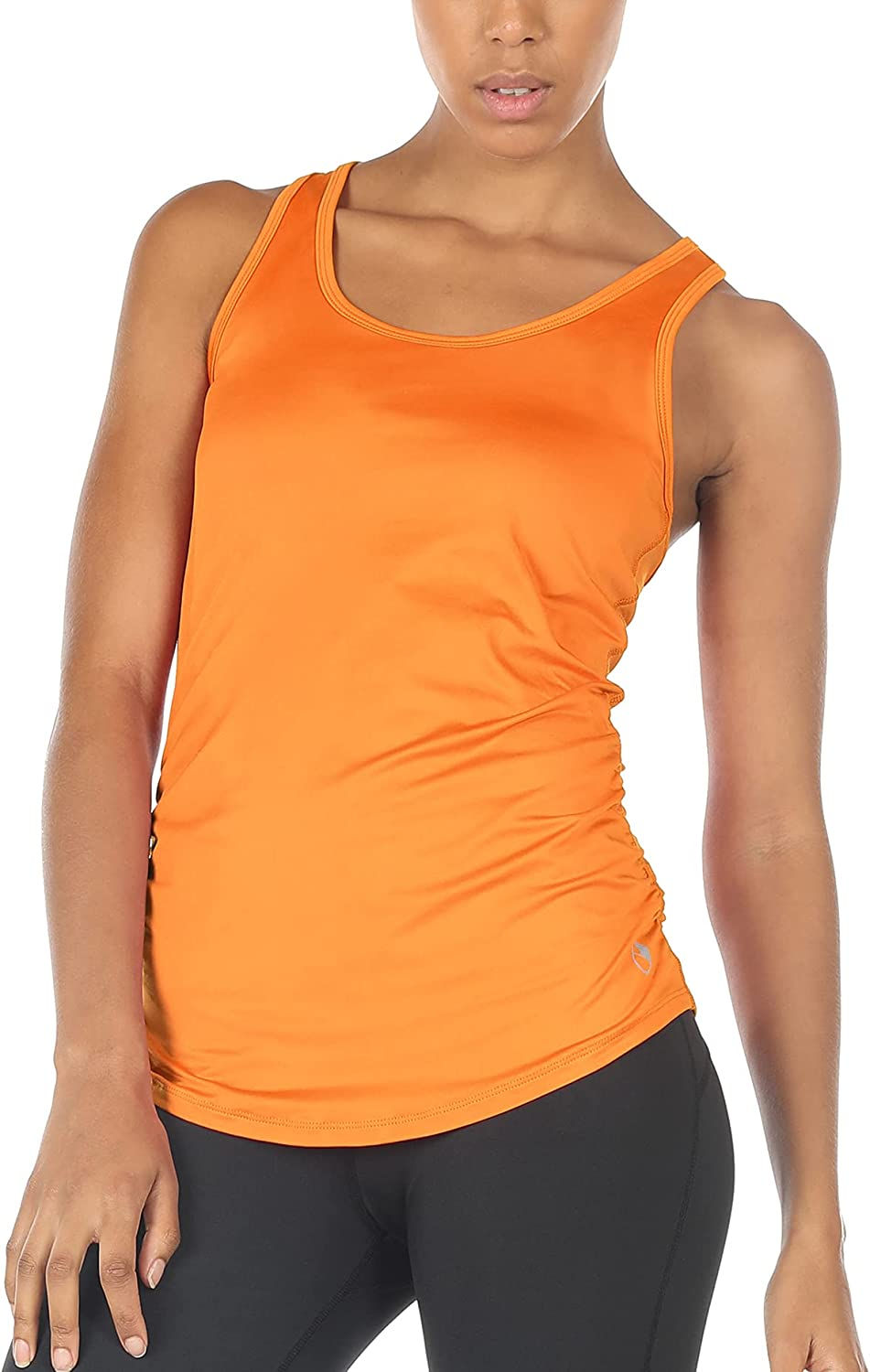 icyzone Workout Yoga Fitness Sports Racerback Tank Tops for Women