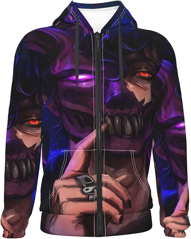 Corpse Husband Sacramento Mall Teenage Zipper Hoodie Casual Sweater Max 87% OFF Jackets Hood