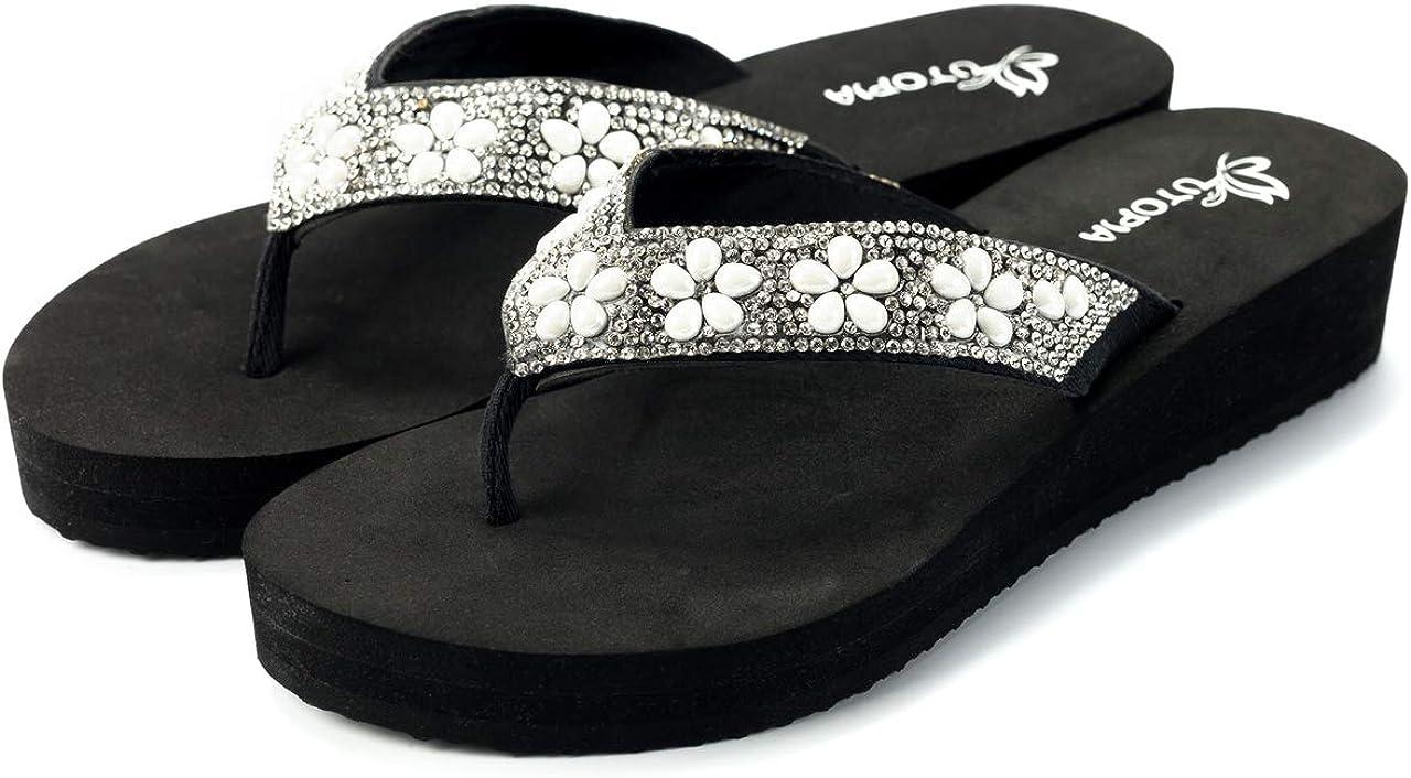 Nova Utopia Women's Casual Summer In stock Sandals Wedge Under blast sales