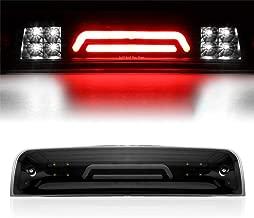 BA-BOLING 3D LED 3rd Third Tail Brake LightRear Cargo Lamp for 2009-2017 Dodge Ram 1500 2010-2017 Dodge Ram 2500 3500 High Mount Cargo Lamp(Smoke Lens)