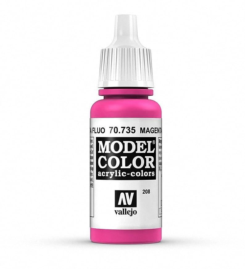 Vallejo Magenta Fluorescent Paint, 17ml