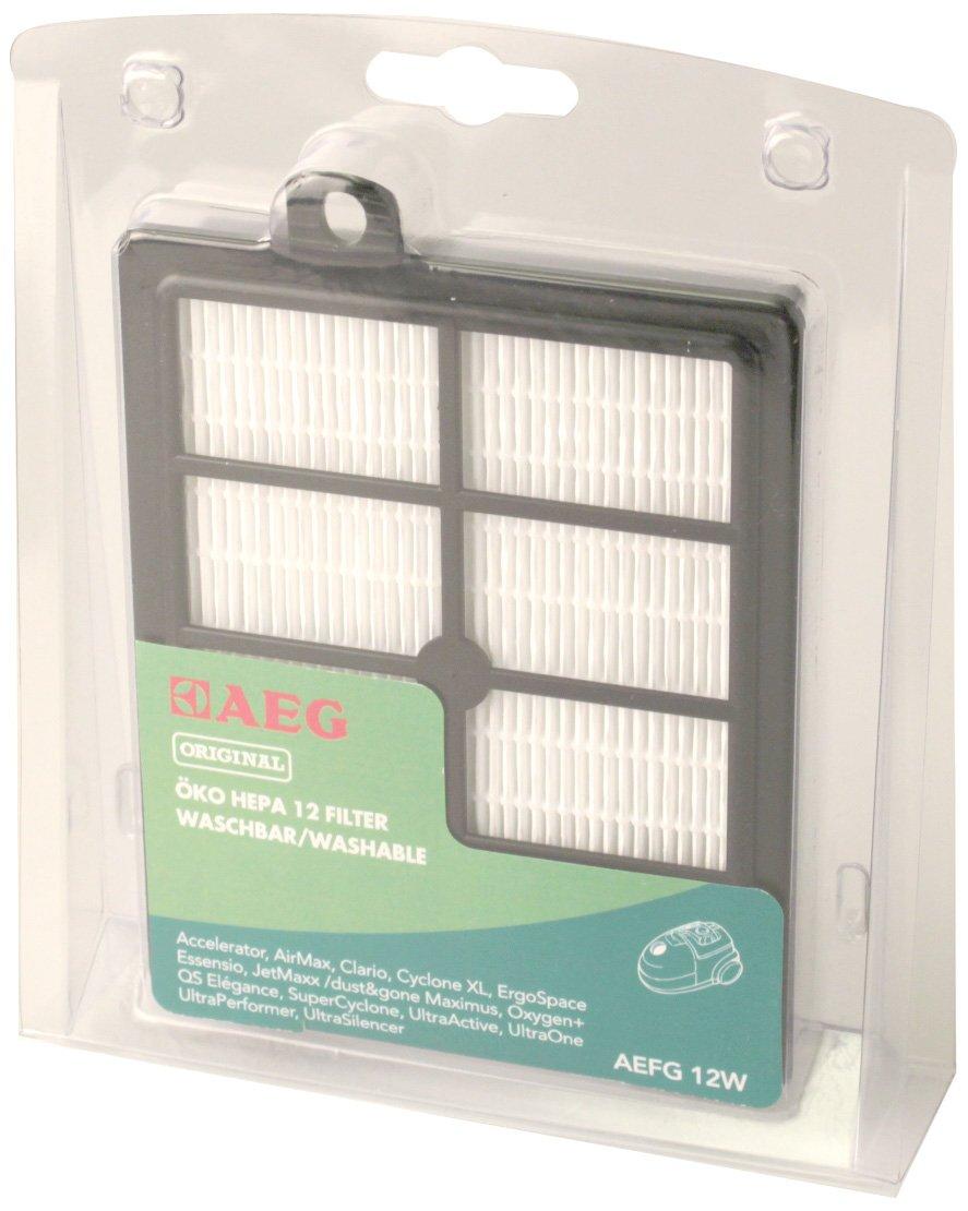 AEG AEFG 12 W - Filtro HEPA lavable para aspiradoras con S-Bag de ...