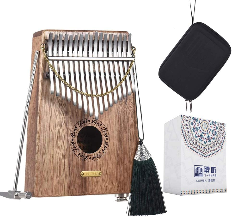LingTing Kalimba 17 keys Overseas parallel import regular item Thumb Gift Finger Piano Limited Special Price Mbira for