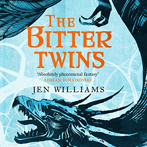 The Bitter Twins audiobook cover art