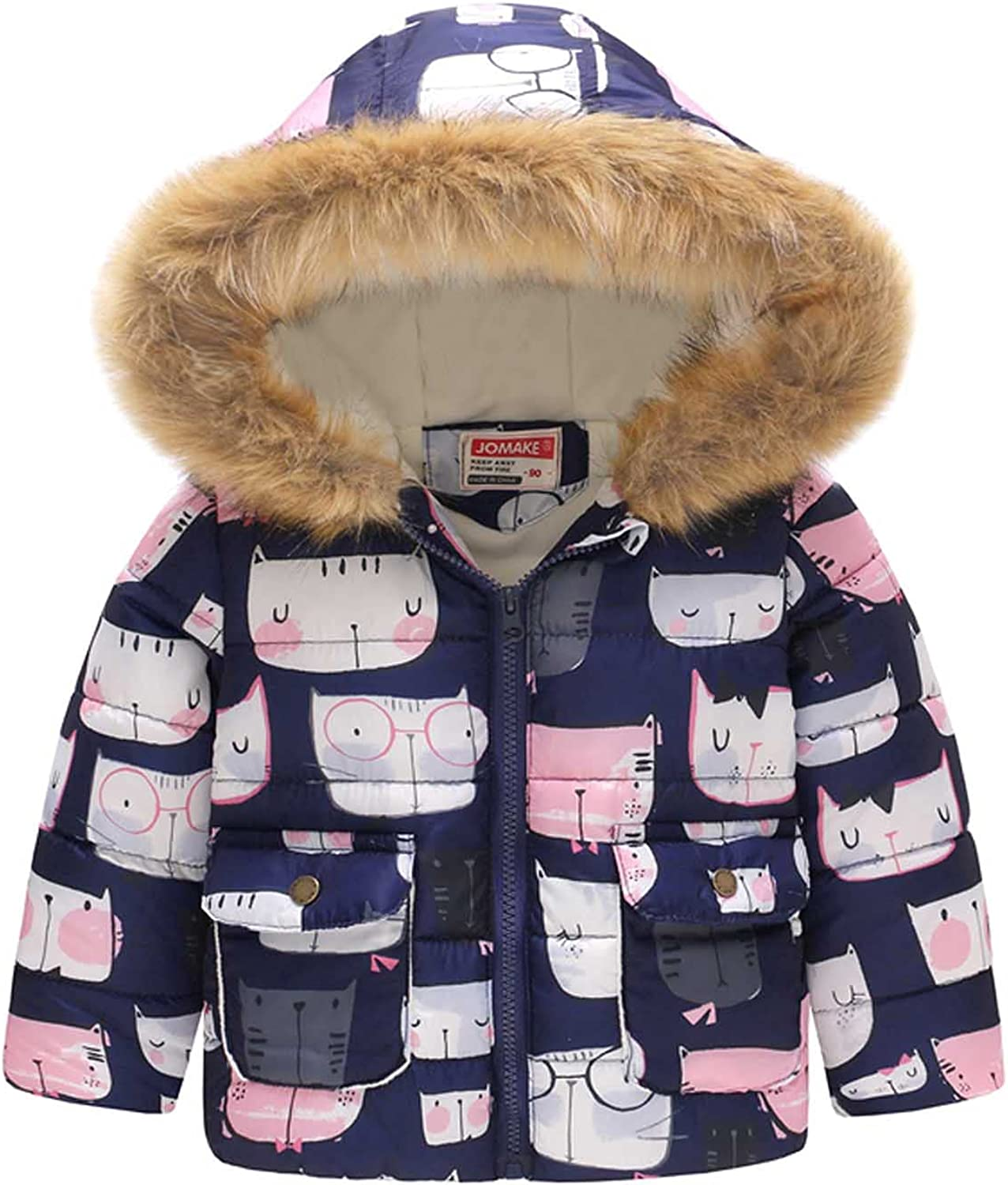 GoodLock Clearance Baby Girls Discount mail order Sale special price Thick D Padded Kids Fashion Coat