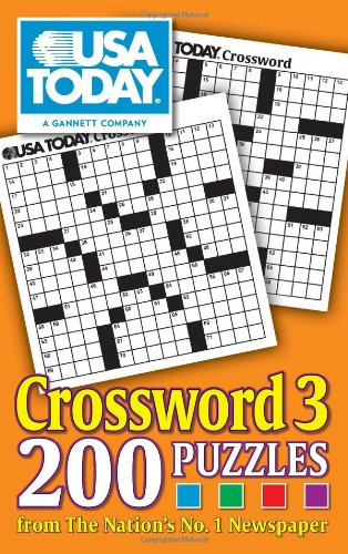 Compare Textbook Prices for USA TODAY Crossword 3: 200 Puzzles from The Nation's No. 1 Newspaper Volume 21 USA Today Puzzles Original Edition ISBN 0050837294974 by USA TODAY