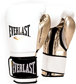 Everlast PowerLock Pro Training Gloves 14oz Wht/Gld PowerLock Pro Training Gloves