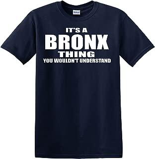 Bronx Thing Navy Blue T Shirt