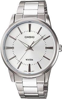 كاسيو ساعة رسمية رجال انالوج بعقارب ستانلس ستيل - MTP1303D-7AV