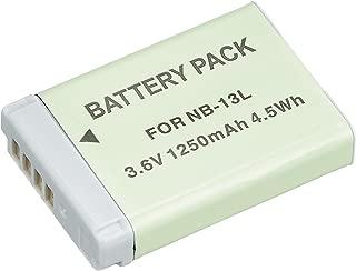 NinoLite NB-13L 互換 バッテリー キャノン PowerShot G7 X / G5 X / G9 X 対応 nb13l_n