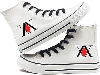 UMUSTY Chaussures en Toile décontractées Unisexes Bottines à Lacets Hunter x Hunter Hisoka (2,35)