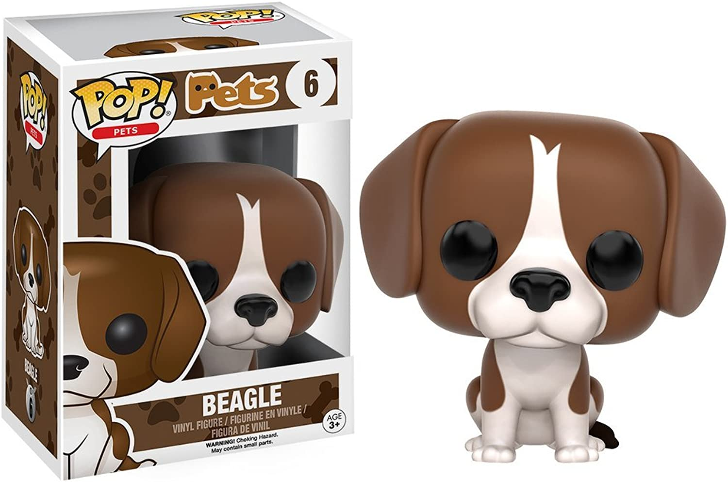 Pop  Pets Beagle Pop  Vinyl Figure