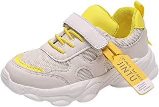 Sneakers Trainers Knitting Shoes for Small Children Kids, Children's Sneakers Athletic Running Walking Shoes, Trekking Shoes for Kids, FULLSUNNY