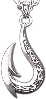 [グランドガレリア] GRAND GALLERIA シルバー925 ハンドメイド 釣り針 フィッシュフック ネックレス PDT-84 (50 センチメートル)