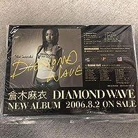 倉木麻衣 Diamond Wave 大型スタンドPOP