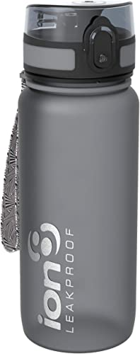 ion8 Tour Bottle 750 ml, Durable Water Bottle, Leakproof Sport Flask with Fast Flow for Rapid Hydration, BPA Free Pla...