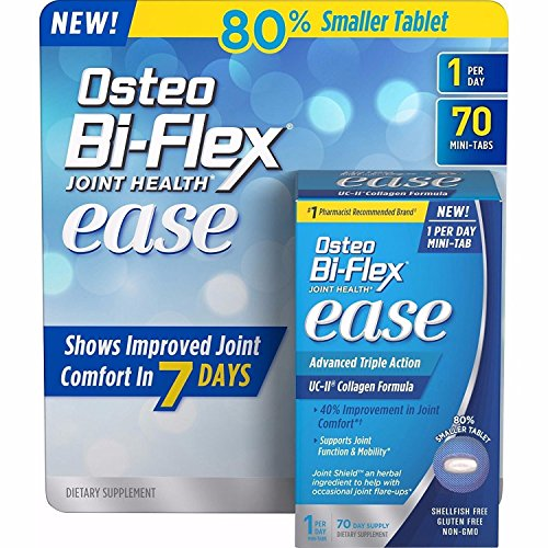 Osteo Bi-Flex Joint Health Multipack of Ease 140 Mini Tabs 1 a day Advanced Triple Action UC-II Collagen Formula