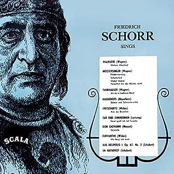 Friedrich Schorr Sings