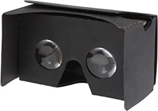 Virtual Reality 3D Google Cardboard Glasses VR Viewer for Android iPhone Samsung and Other Android Model Black