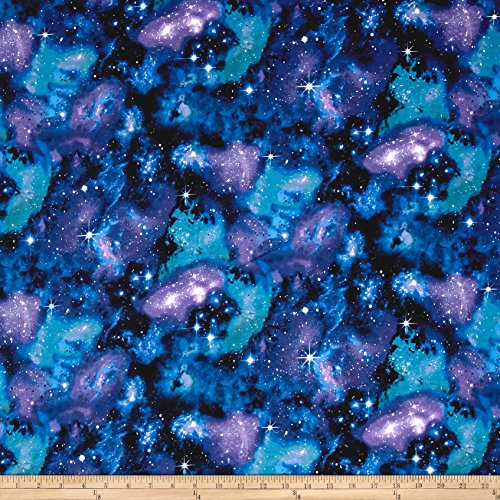 Timeless Treasures City Jersey Knit Fabric by The Yard, Galaxy
