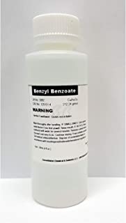 Benzyl Benzoate 120ml (4oz) High Purity Fragrance/Aroma Compound