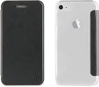 322e7a1870d Muvit Folio - Funda con Parte Trasera Transparente para Apple iPhone 8/7/6S