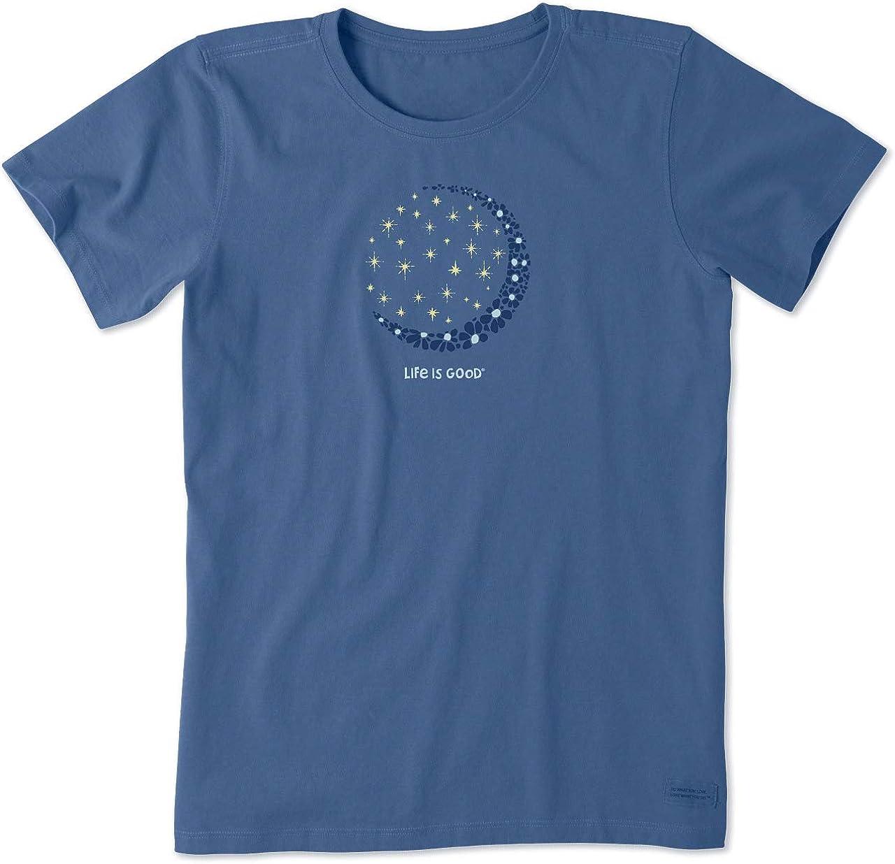 Life is Good Women's Crusher Graphic T-Shirt