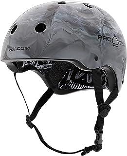 Pro-Tec Cosmic Matter Volcom Collaboration Classic Certified Skateboarding Helme (XL, Grey)
