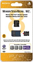 Sony PSP 8GB Memory Stick Micro with Adapter