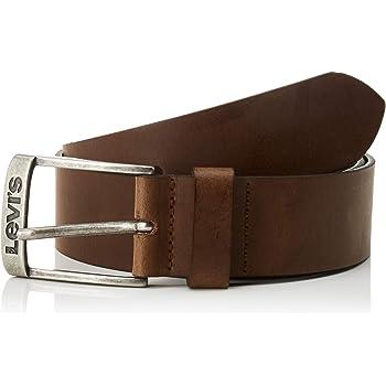 LEVIS FOOTWEAR AND ACCESSORIES Men's NEW DUNCAN Belt, Brown