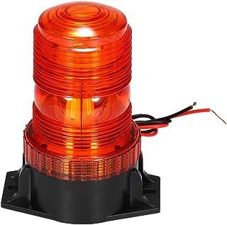 KKmoon Luz Estroboscópica 30 LED Faro Intermitente de Advertencia de Emergencia ámbar/Amarillo 15W