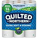 24 Rolls Quilted Northern Ultra Soft & Strong Earth-Friendly Toilet Paper