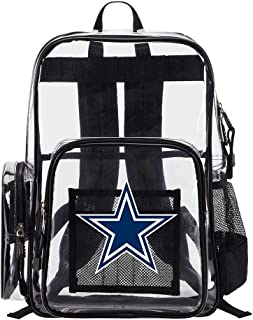 The Northwest Company Dallas Cowboys NFL Dimension Clear Backpack
