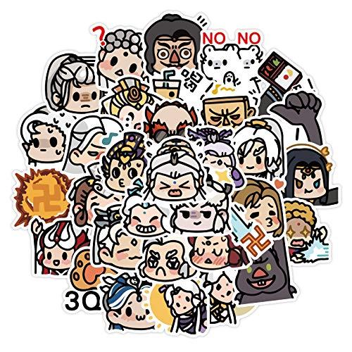 JZLMF 40 dibujos animados anime personaje Avatar mano...
