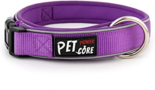 Pioneer Petcore Reflective Neoprene Padded Dog Collar,Running Dog Collar,Premium Quality Sports Collar,Soft and Comfortable for Active Dogs