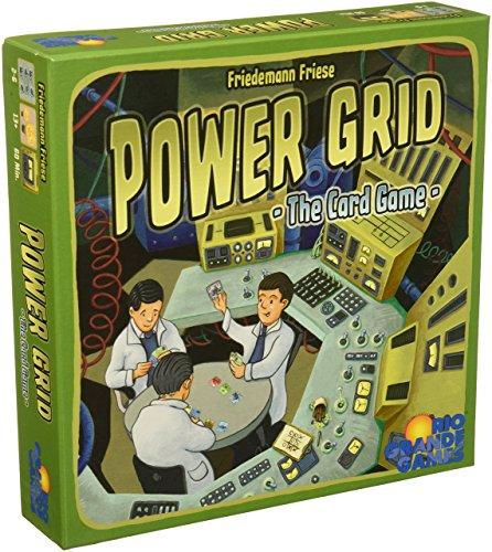 Rio Grande Games RGG536Power Grid Il Gioco di Carte