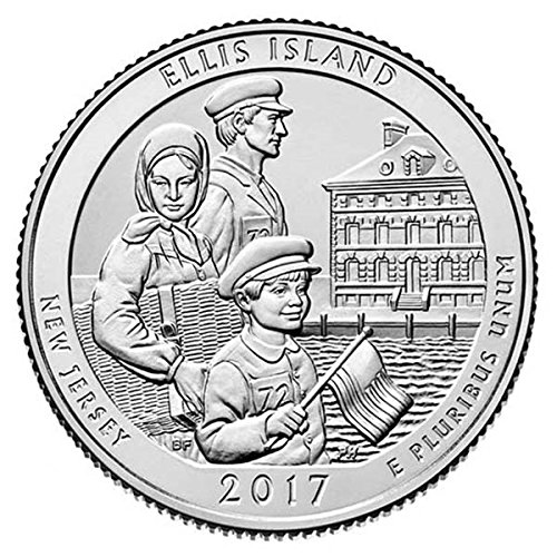 2017 D Bankroll of 40 – Ellis Island National Park, NJ Uncirculated
