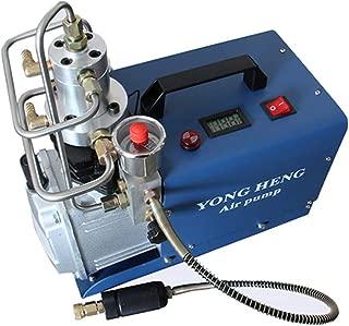 110V Adjustable Set-Pressure 4500PSI 300Bar 30MPA Electrical High Pressure Air Compressor Inflator PCP Rifle Airgun Scuba Air Pump
